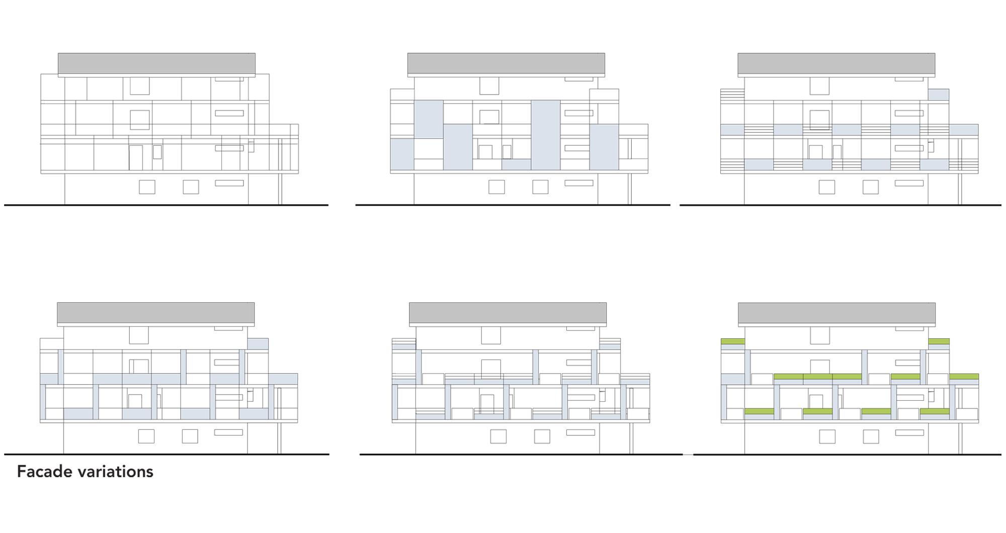 facade redevelopment. pescara