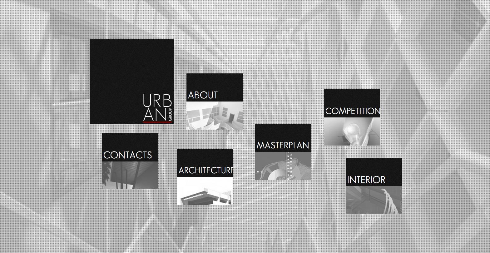 Urban Group Architects Website